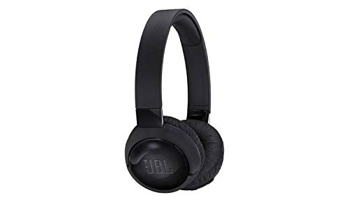 JBL Tune 660 BTNC On-Ear active Noise Cancelling Kopfhörer – JBL Pure Bass Sound – Via Bluetooth- oder Kabel-Verbindung – Schwarz
