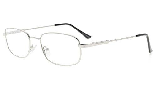 Eyekepper hombres mujeres gafas de lectura titanio flexible