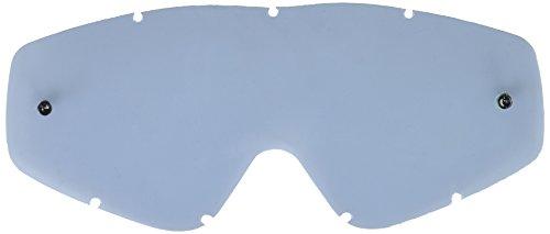 EKS BRAND Unisex-Adult Single Pane GOX MX Motorcross Goggle Replacement Lens (Smoke, One Size)