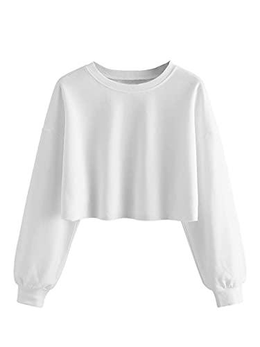 SOLY HUX Damska bluza z długim rękawem, luźna, luźna bluzka z długim rękawem, na jesień
