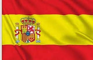 Nova Bandera DE ESPAÑA 60X90cm para Exterior, Celebraciones Y Mucho MÁS: Amazon.es: Deportes y aire libre