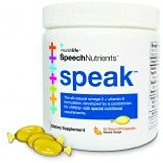 Lifetrients Speak Twist-Off Softgels – 60 ct | Pediatrician Formulated to Support Children with Special Nutritional Requirements | Enhanced with Omega-3, Vitamin E's, Vitamin D & Vitamin K's