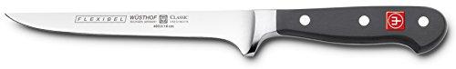 Wusthof 4603 Boning Knife, 6 Inch, Black