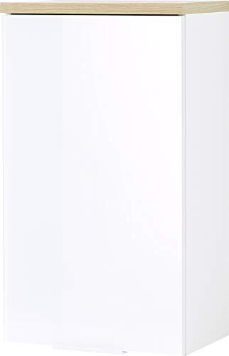 Germania Armario Colgante, Blanco, Montierte Maße ca. B/H/T 39/69/27 cm