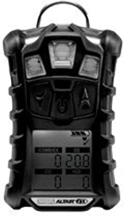 MSA (Mine Safety Appliances) 10110444 MSA Charcoal ALTAIR 4X Portable Combustible Gas and Oxygen Monitor with Rechargeable Battery and Motion Alert, ...