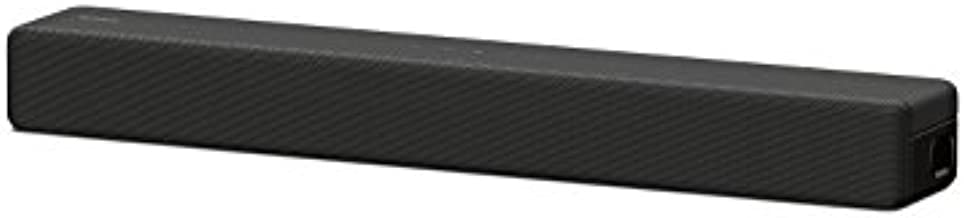 Sony S200F 2.1ch Soundbar with built-in Subwoofer and Bluetooth Home Theater Audio for TV, (HT200F), easy setup, compact, home office use with clear sound black