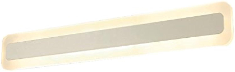 &Spiegelleuchte Spiegel vorne Licht Bad führte Bad Lichter Spiegel Licht Einfache Toiletten Lichter Energiesparlampe Wandleuchte Toilettenleuchten (gre   40cm)