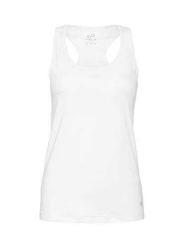CARE OF by PUMA Camiseta sin mangas para mujer, Blanco (White), 42, Label: L