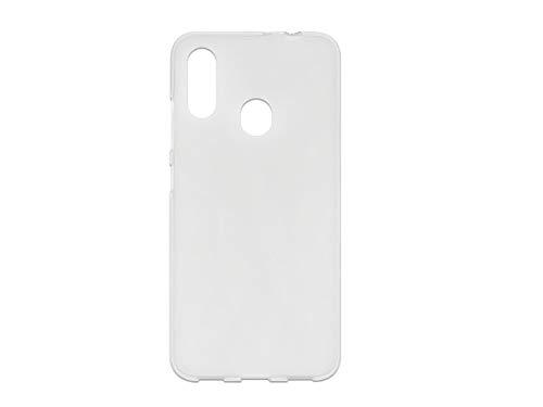 etuo Hülle für ZTE Blade V10 Vita - Hülle FLEXmat Hülle - Weiß Handyhülle Schutzhülle Etui Hülle Cover Tasche für Handy