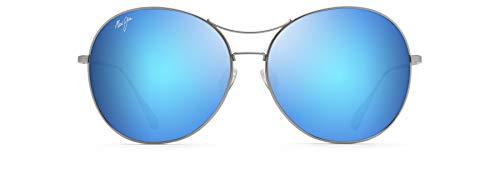 Maui Jim Gafa De Sol 'O PIHI MJB547-11B Montura: Titanio Lente: Blue Hawaii Material de la lente: MauiBrilliant