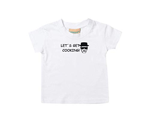T-Shirt Enfants Breaking Bad White Cook Chemistry Walter Culte - Blanc, 36-48Monate