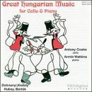 Great Hungarian Music for Cello & Piano by Antony Cooke
