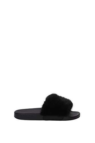 Givenchy Flip-Flops und Holzschuhe Damen - Fell (BE08209806001) 39 EU