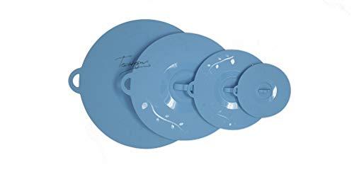 Tecnhogar 04021 Lot de 4 couvercles en silicone haute aspiration