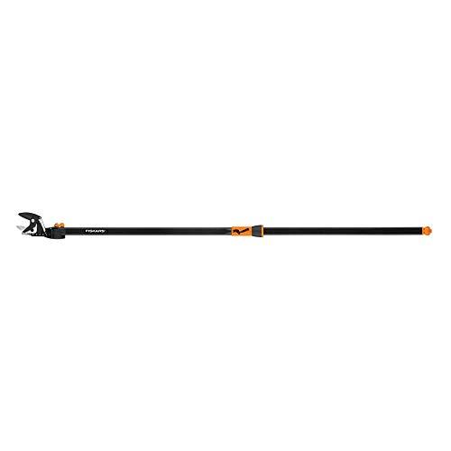 Fiskars EZ Reach Tree Pruning Stik with Rotating Head 5 Feet Long,Orange