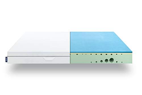 EMMA One Mattress - 90 x 190 cm Medium - 7 Zone Memory Foam Mattress - Breathable - 100 Nights Trial Sleep - Oeko-Tex Certified - Developed in Germany