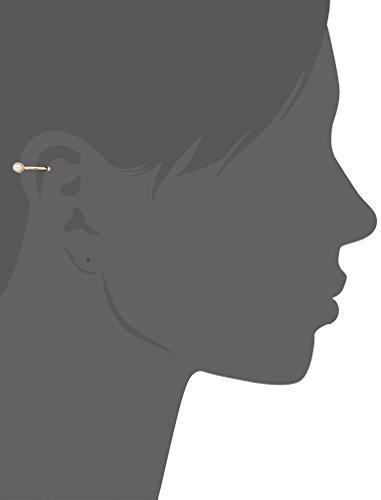 [VAヴァンドーム青山]VAVENDOMEAOYAMAK10PG淡水パールフープイヤーカフイヤカフ片耳用GJAE0196HPF