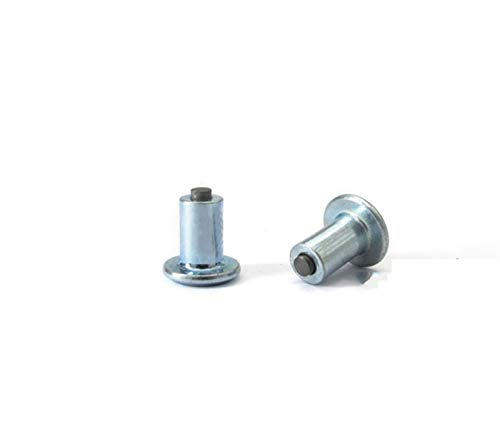 Cadenas Nieve Coche, 100 PCS/Set Spikes for neumáticos 9mm Coche Neumático Neumático Tornillos Tornillos Antideslizantes Vehículo Rueda Nail Nail Clavo Alta Calidad Coche de aleación Fácil de montar