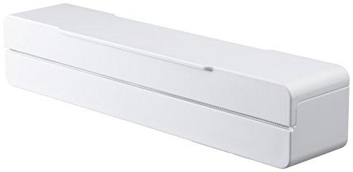 山崎実業 マグネット ラップケース 22cm用 アクア ホワイト 3239