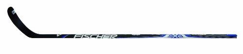 Fischer Hockey Senior SX3 Matt Composite Stick, 100 Flex, 61-Inch, Black with Matte Blue, Left, P4