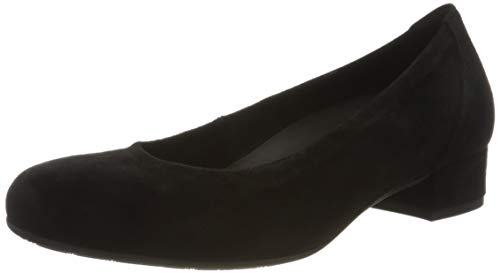 Gabor Shoes Damen Comfort Basic Pumps, Schwarz (Schwarz (A.Obl) 17), 39 EU