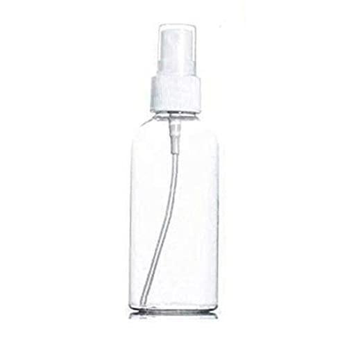 Tatoonly Botella transparente del espray para el viaje 30ml pequeña capacidad portátil plástico durable reponiendo la botella del espray