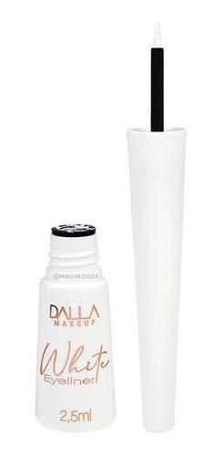 Delineador Branco White Eyeliner Dalla Makeup
