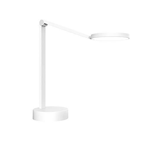 Lámpara Escritorio LED,Lámpara De Escritorio con Protección para Los Ojos,lámpara De Escritorio De Doble Ajuste, Lámpara De Escritorio Recargable De Doble Propósito, Blanco,5W