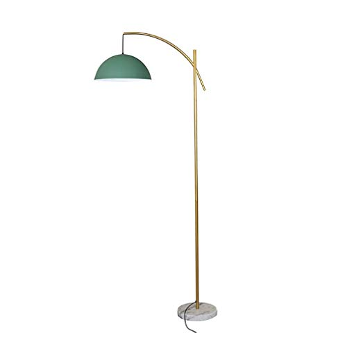 Lámpara Alta Lámpara de pie de Arco Lámpara de pie LED con Pantalla de Hierro Lámpara de pie Lámparas Altas de diseño Moderno para Sala de Estar, Lámpara de pie para Dormitorio