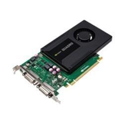 PNY Quadro K2000D Kepler–2GB GDDR5PCIe tarjeta gráfica D-SUB DVI-I
