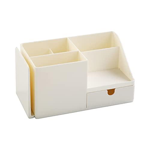 Aufbewahrungsbox Leichter Tisch Schreibtisch Stift Buch Organizer Schubladen Design Robust Weiß S