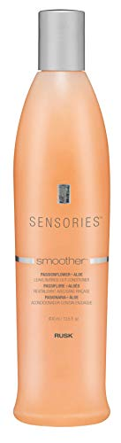 RUSK Sensories Smoother Passionflower and Aloe Smoothing Leave-in Conditioner, 13.5 fl. oz.