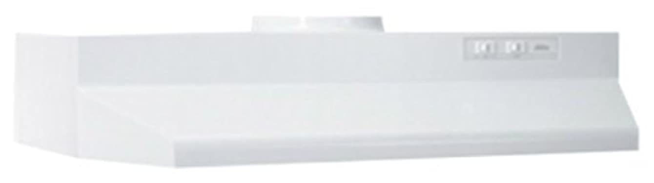 Broan 424201 ADA Capable Under-Cabinet Range Hood, 190 CFM 42-Inch, White