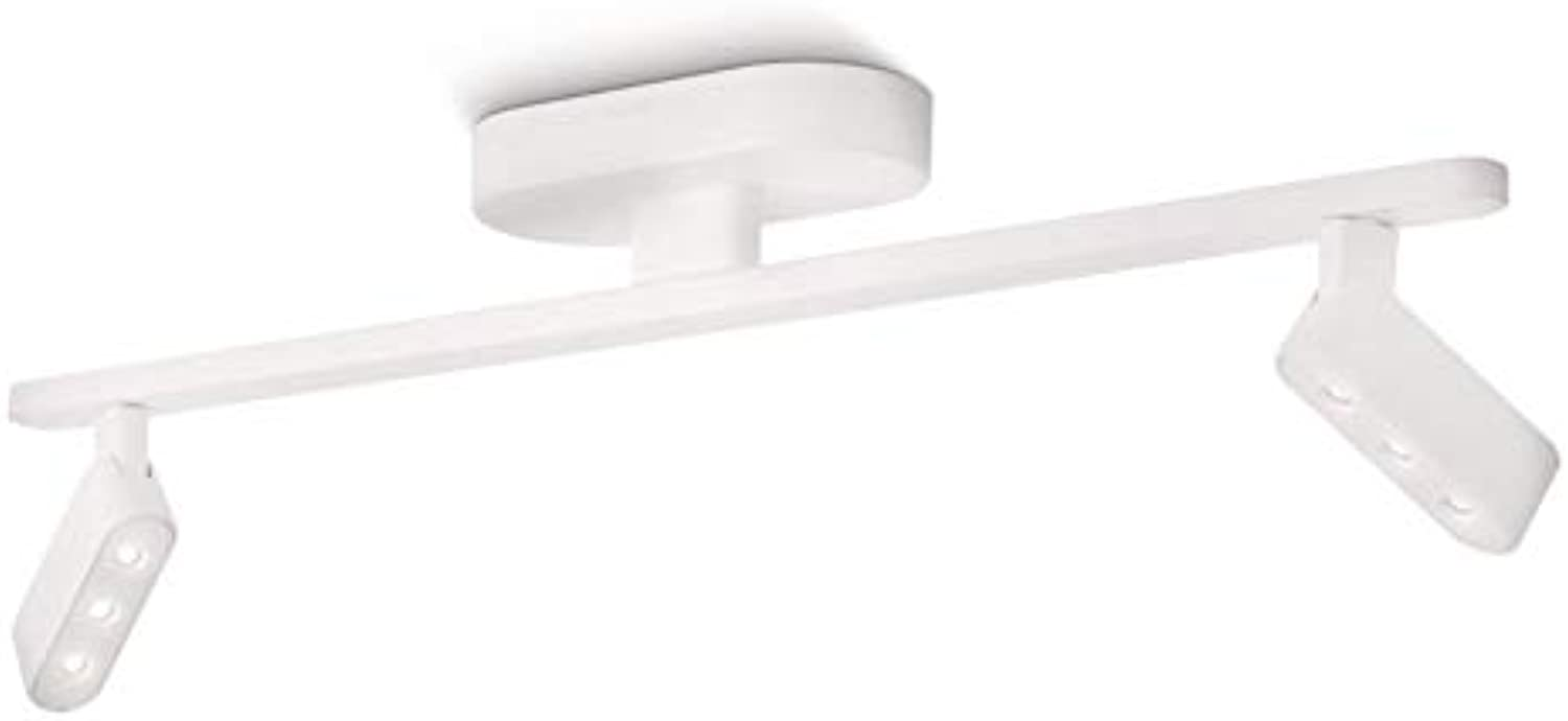 Philips InStyle Punti LED Aufbauspot, 2-flammig, wei 579063116