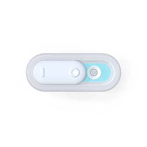 YSJJXTB Luz Nocturna Luz Nocturna LED con Sensor de Movimiento USB Recargable Cuerpo Humano Inducción Dormitorio Lámpara de Noche con Luces de gabinete Cocina (Emitting Color : Green)
