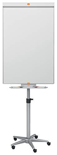 Nobo Classic mobiles Flipchart aus Stahl (höhenregulierbar, geeignet für Flipchartblöcke)