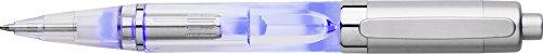 PenLight Leuchtstift nach EN71-3 und EN 62471:2008 Norm zertifiziert mit LED Licht für Nacht Schriftsteller Schreiben im Dunkeln 3 Stück von notrash2003® (Blau)