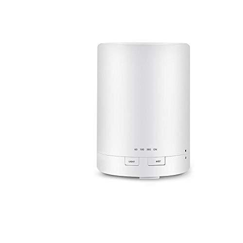 ZYYC Humidificador de Aire de 1000 ml, difusor de Aromas, aceites Esenciales de aromaterapia, humidificador ultrasónico, Fabricante de Niebla, 7 Colores LED para el hogar, 300 ml B_AU