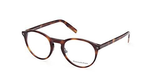 Ermenegildo Zegna EZ5193 Dark Havana 52/23/150 hombres Gafas Marco