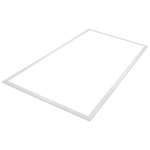 Panel LED 80W, Samsung ChipLed + TUV driver, 60x120cm, marco blanco, Blanco frío
