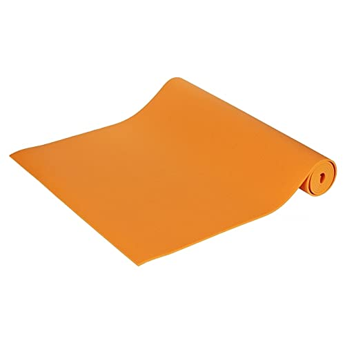 Yogamatte Premium 183 x 60 x 0,45 cm Made in Germany, orange