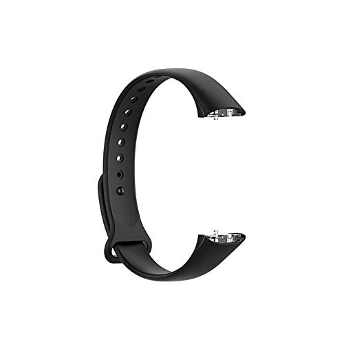 para Samsung Galaxy Fit Pulsera Inteligente Correa De Silicona Reemplazo De La Banda Smart Reloj Correa Reloj De Pulsera (Color : Black)