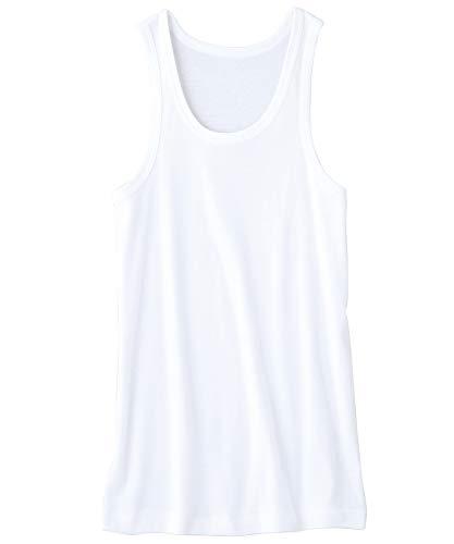 『[セシール] 男の綿100% 消臭・抗菌 ランニング(2枚組セット) KO-860』の3枚目の画像