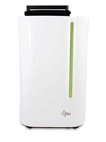 SUNTEC Dryfix 20 Lumio Luftentfeuchter – für Räume bis 150 M³ ( ca 65 m2 ) | Raumentfeuchter mit 20 l / Tag Entfeuchtung | Entfeuchter elektrisch inkl. Luftreiniger Funktion + mobile Wäschetrocknung