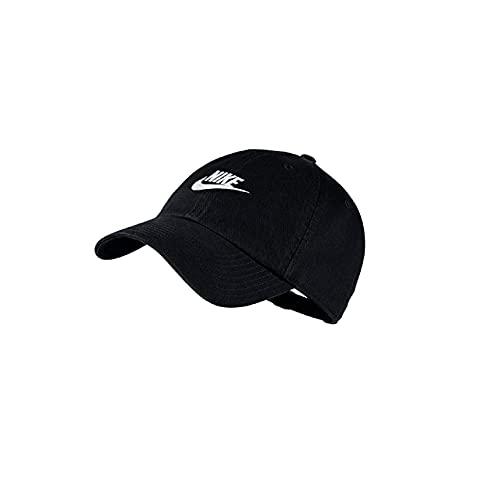 Bone Nike Sportswear H86 Cap Preto/preto/branco