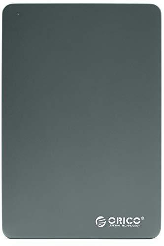 """ORICO 250GB Externe Festplatte 2,5"""" USB 3.0 MD25U3 Tragbare Mobile Speicherplatte HDD extern für Fotos TV PC Laptop Notebook Computer ps4 ps5 Xbox kompatibel mit Windows Mac OS Linux - Darkgrey"""