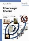 Chronologie chemie 1800-1980 - Sieghard Neufeldt