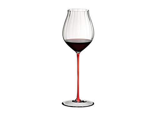 RIEDEL - High Performance - Pinot Noir - Kristallglas - Klar/Rot - H: 32,5cm - Lieferumfang: 1 Stück!