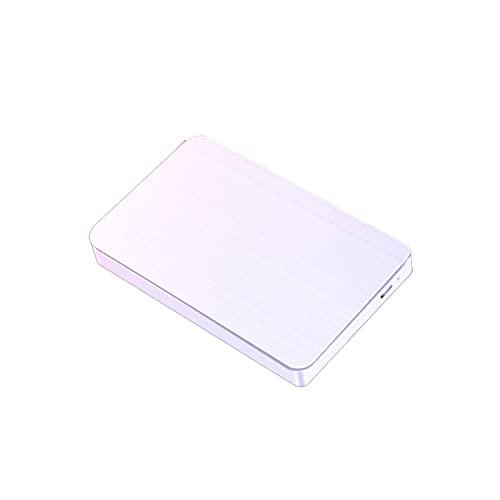 Disco duro externo de 2.5 pulgadas, 2 TB, 500 GB, 120 GB, USB 3.0, almacenamiento de copia portátil, adecuado para escritorio, portátil, Macbook, Xbox One, Ps4, Smart TV (320 GB, blanco)
