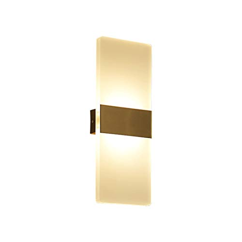 Lámpara de Pared Simplicidad Moderna LED Lámpara de pared Enchufe / Montaje en pared Luz de pared Luz creativa Lámpara de pared Luz de Luz Cálida Lámparas de Lámparas, No regulable Aplique de pared